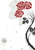 абстрактная предпосылка флористическая Стоковое Изображение