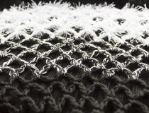 абстрактная предпосылка Фото крупного плана связанных шерстей Ложная трава стоковая фотография rf