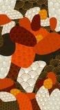 абстрактная предпосылка цветастая иллюстрация штока