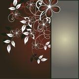 абстрактная предпосылка цветет te места ваше бесплатная иллюстрация