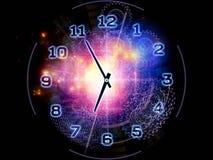 Абстрактная предпосылка часов иллюстрация штока