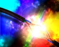 абстрактная предпосылка электрическая Стоковые Фотографии RF
