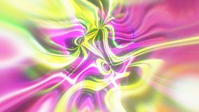 Абстрактная предпосылка энергии зарева с визуальными влияниями иллюзии и волны, 3d представляет производить компьютера Стоковое Изображение RF