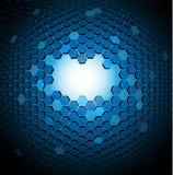 абстрактная предпосылка 3d техническая иллюстрация вектора