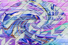 абстрактная предпосылка 3d иллюстрация штока