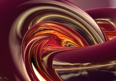 абстрактная предпосылка 3d Стоковое Изображение