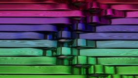 абстрактная предпосылка 3d геометрическая акции видеоматериалы