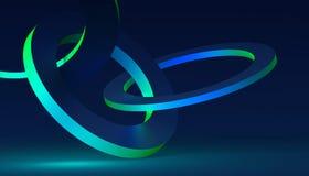 Абстрактная предпосылка Minimalistic 3D Стоковые Изображения RF