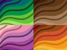 Абстрактная предпосылка paisley хны Стоковые Изображения RF