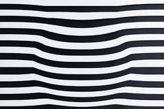 Абстрактная предпосылка striped 3D Стоковое фото RF