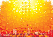 абстрактная предпосылка горячая Стоковое фото RF