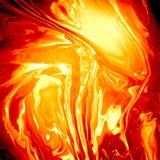 Абстрактная предпосылка лавы Стоковая Фотография