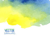 Абстрактная предпосылка акварели для вашего дизайна Стоковая Фотография