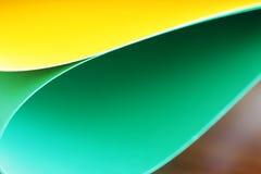Абстрактная предпосылка бумажного стога defocused красочная Стоковые Изображения