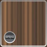 Абстрактная предпосылка вектора с коричневыми нашивками Стоковое Фото