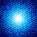 Абстрактная предпосылка вектора с шестиугольниками Стоковые Фотографии RF