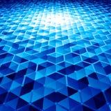 Абстрактная предпосылка вектора с шестиугольниками Стоковое Фото