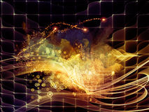 Абстрактная предпосылка визуализирования Стоковые Изображения