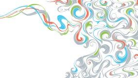 абстрактная предпосылка волнистая Стоковые Изображения