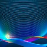 Абстрактная предпосылка волны Стоковое Изображение RF