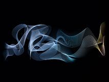 Абстрактная предпосылка волны Стоковые Изображения RF