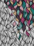 Абстрактная предпосылка волны Стоковая Фотография