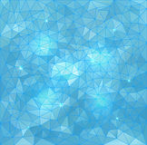 Абстрактная предпосылка воды вектора треугольника иллюстрация штока