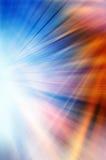 Абстрактная предпосылка в голубом, красном, оранжевом, белом и желтом цвете Стоковая Фотография
