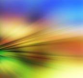 Абстрактная предпосылка в голубом, фиолетовом, оранжевом, желтой и зеленой Стоковое Изображение