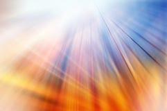 Абстрактная предпосылка в голубых, красных, оранжевых и желтых цветах Стоковое Изображение RF