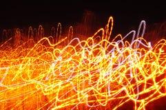 Абстрактная предпосылка влияния огня Стоковая Фотография RF