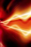 Абстрактная предпосылка в красной, желтой, апельсине и черноте Стоковое Изображение RF