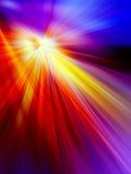 Абстрактная предпосылка в красных, желтых, голубых, фиолетовых и розовых цветах Стоковые Изображения