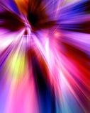 Абстрактная предпосылка в красных, фиолетовых, розовых и голубых цветах Стоковое фото RF