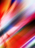 Абстрактная предпосылка в красных, фиолетовых, розовых, оранжевых и голубых цветах Стоковая Фотография