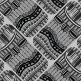 Абстрактная предпосылка в сером цвете Стоковые Фото