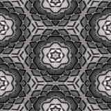 Абстрактная предпосылка в тенях серого цвета, безшовных Стоковое фото RF