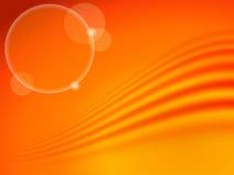 Абстрактная предпосылка в цветах осени с волной Желтый цвет, апельсин, красный цвет, коричневый Стоковое Фото