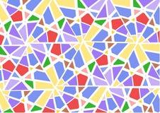 абстрактная предпосылка геометрическая Стоковые Фотографии RF