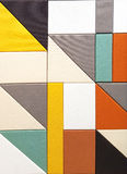 абстрактная предпосылка геометрическая Стоковые Изображения RF