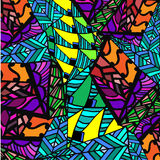 Абстрактная предпосылка геометрических картин Стоковое Изображение RF
