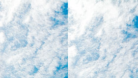 Абстрактная предпосылка голубого неба Стоковая Фотография RF