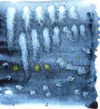 абстрактная предпосылка Дизайн картины Grunge поверхностный Акварель моет текстуру Стоковые Изображения