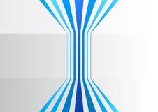 Абстрактная предпосылка дела с голубыми вертикальными линиями в сером офисе бесплатная иллюстрация