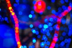 Абстрактная предпосылка запачканных светов с влиянием bokeh Стоковое Изображение