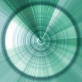 Абстрактная предпосылка зеленого цвета с кругом Стоковые Изображения