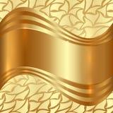 Абстрактная предпосылка золота иллюстрация вектора