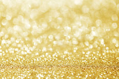 абстрактная предпосылка золотистая Стоковые Фотографии RF