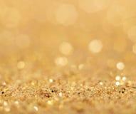 абстрактная предпосылка золотистая Стоковое Фото