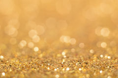 абстрактная предпосылка золотистая Стоковая Фотография